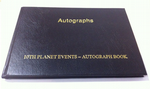 Pre-Signed Autograph Book GENUINE SIGNED AUTOGRAPHS - 10679
